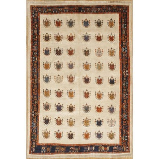 Persian Nomadic Woven Area Rug (5' 11 x 8' 8)