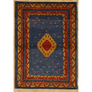 Persian Nomadic Woven Area Rug (3' 7 x 5' 1)