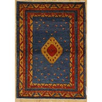 Persian Nomadic Woven Area Rug - 3' 7 x 5' 1