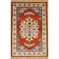 Persian Nomadic Woven Area Rug - 4' 9 x 7' 5