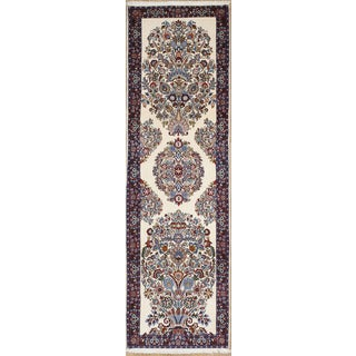 Original Persian Meshad Runner Rug (3' x 10')