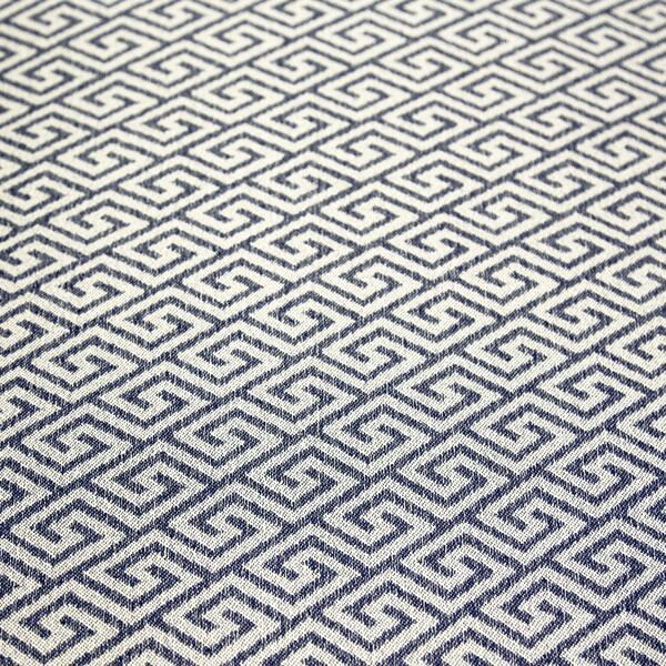 Amazing Shop Porter Draper Navy Blue And White Greek Key Rectangle Ibusinesslaw Wood Chair Design Ideas Ibusinesslaworg