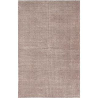 ecarpetgallery Hand-knotted Shimmer Brown Art Silk Rug (5'0 x 8'0)