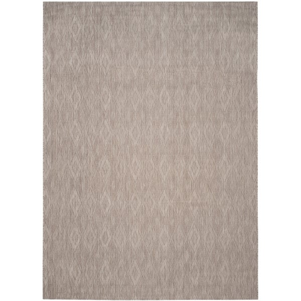 Safavieh Indoor/ Outdoor Courtyard Beige/ Beige Rug - 9' x 12'