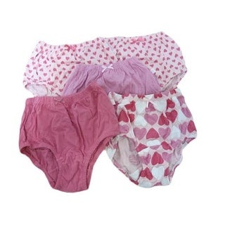 Candyland 100-percent Cotton Girl's Panties (Pack of 5)