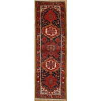 Persian Runner with Geometric Design   (3' 4 x 10' 4)