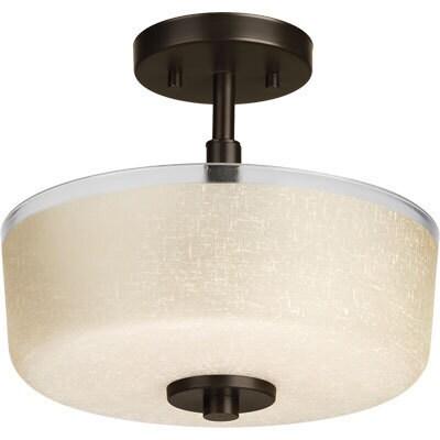 Progress Lighting P2851-20 Alexa 2-light Close-to-ceiling...
