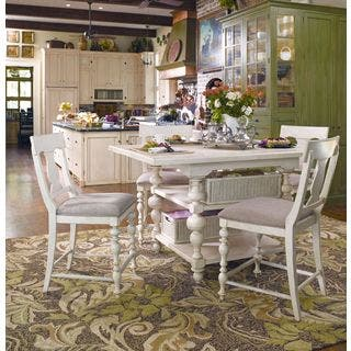 Paula Deen Home Kitchen Gathering Table in Linen Finish|https://ak1.ostkcdn.com/images/products/11623492/P18558830.jpg?impolicy=medium