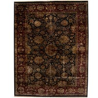Herat Oriental Indo Persian Hand-knotted Khorasan Wool Rug (12' x 15'4) - 12' x 15'4
