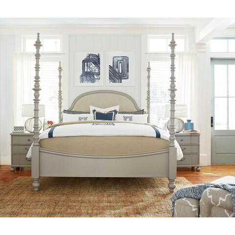 Dogwood Complete Bed in Cobblestone Finish
