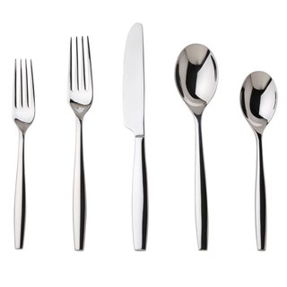 Nambe Aidan 5-Piece Stainless Steel Place Setting/ Service for 1