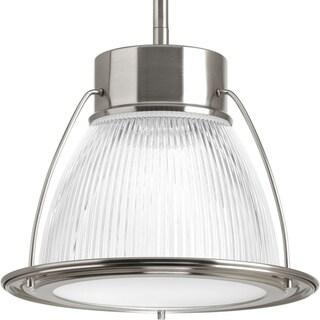 Progress Lighting P5075-0930k9 Prismatic Glass 1-light Mini-pendant