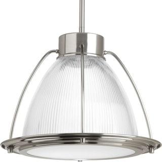 Progress Lighting P5143-0930k9 Prismatic Glass 1-light LED Pendant
