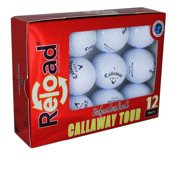 Callaway HEX Chrome Refinished Grade A Golf Balls