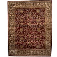 Herat Oriental Indo Persian Hand-knotted Khorasan Wool Rug (12' x 15'3) - 12' x 15'3