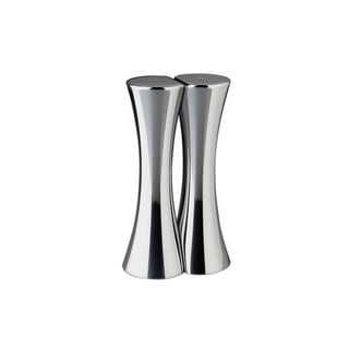 Nambe Kissing Silver Salt and Pepper Shaker Set