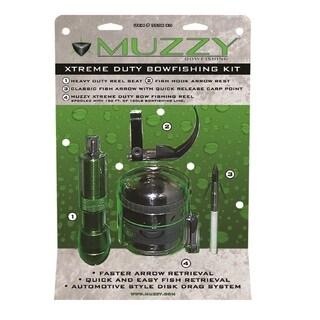 Muzzy Xtreme Duty Spincast Style Bowfishing Kit