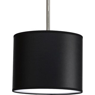 Progress Lighting P8820-01 Markor 10-inch Drum Shade Modular Pendant System