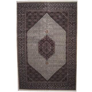 Herat Oriental Indo Persian Hand-knotted Bidjar Wool Rug (12'3 x 18'2)
