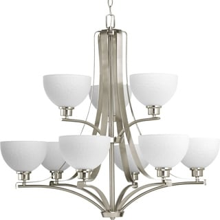 Progress Lighting P4272-09 Legend 9-light 2-tier Chandelier