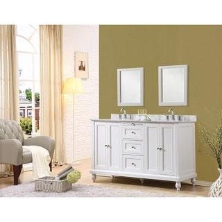 60-inch Classic Double Sink Vanity