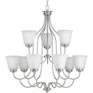 Progress Lighting P4751-09 Keats 9-light 2-tier Chandelier
