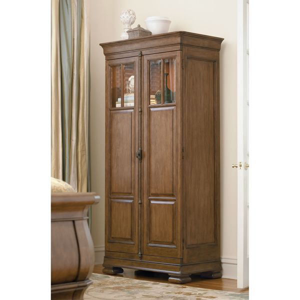 Pennsylvania House Cognac Tall Cabinet Free Shipping Today 11623814
