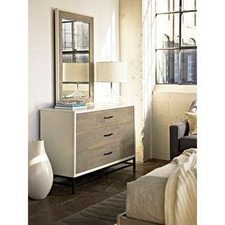 Spencer Bedroom Dresser in Parchment Finish