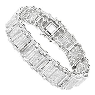 Luxurman 10k Gold Men's 5 1/4ct TDW Diamond Bracelet (H-I, SI1-SI2) https://ak1.ostkcdn.com/images/products/11623894/P18559124.jpg?impolicy=medium