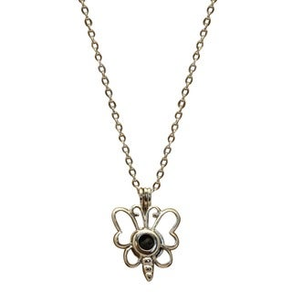Destination Oils Dragonfly Essential Oil Diffuser Girl's 16-inch Necklace