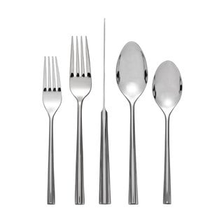 Nambe Tri-Corner 5-Piece Flatware Place Setting