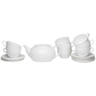 Pure Vanilla Tea Server Set with Cup & Saucers