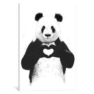 iCanvas 'All You Need Is Love' by Balazs Solti Canvas Print