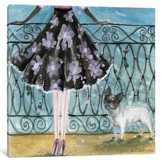 iCanvas 'Dog Day: French Bulldog' by Bella Pilar Canvas Print