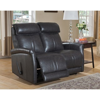 Mosby Top Grain Leather Lay-Flat Reclining Loveseat