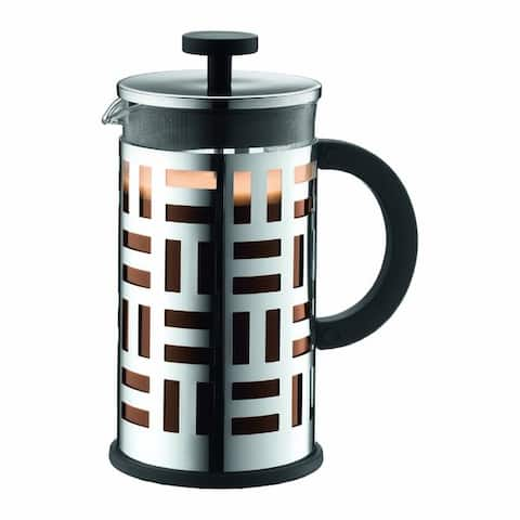 Bodum EILEEN Coffee maker, 8 cup, 1.0 l, 34 oz, Chrome