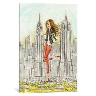 iCanvas 'See The Sights: New York' by Bella Pilar Canvas Print