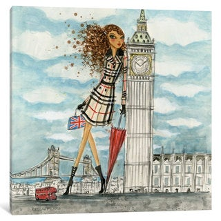 iCanvas 'See The Sights: London' by Bella Pilar Canvas Print