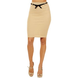 Link to Women's High Waist Sand Color Pencil Skirt Similar Items in Skirts