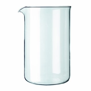 Bodum 1512-10 Replacement 12 Cup Spare Glass for Coffee Press