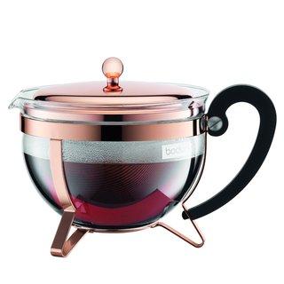 Bodum 11656-18 Chambord Copper 44 Ounce Classic Teapot