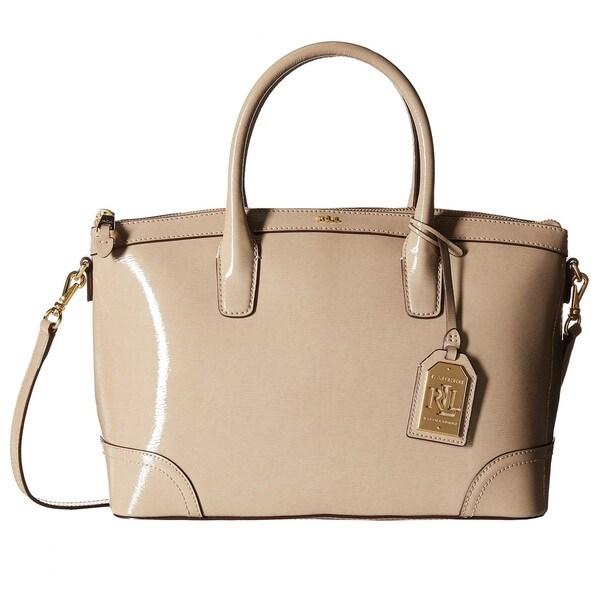 54ea12739e76 ... low price lauren ralph lauren tate patent leather satchel handbag eac72  9809e