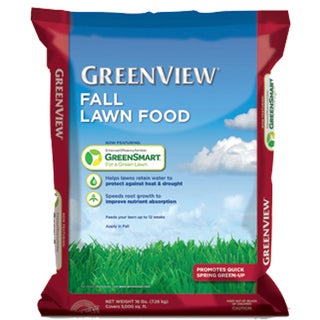 Fall Lawn Food With GreenSmart 22-0-4