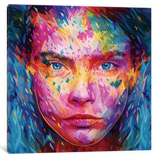 iCanvas 'Cara' by Alessandro Pautasso Canvas Print