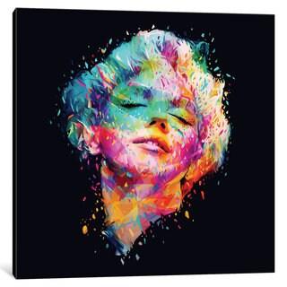 iCanvas 'Marilyn' by Alessandro Pautasso Canvas Print
