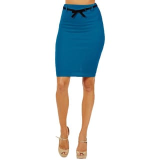Women's High Waist Jade Pencil Skirt
