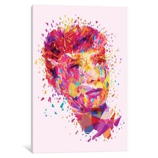 iCanvas 'Audrey' by Alessandro Pautasso Canvas Print