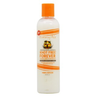 Sunny Isle 8-ounce Jamaican Black Castor Oil Knot Free Forever Natural Leave In Detangler