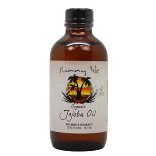 Sunny Isle 4-ounce Organic Jojoba Oil
