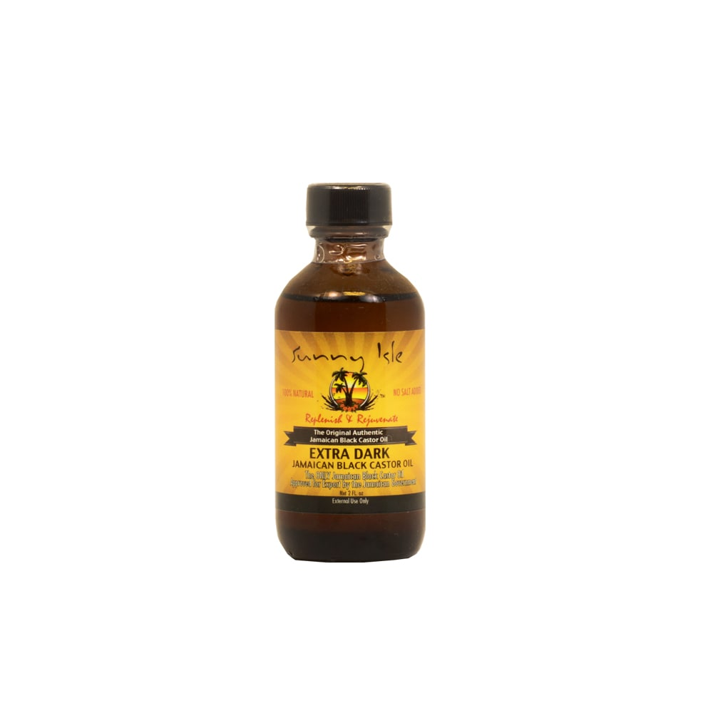 Sunny Isle 2-ounce Extra Dark Jamaican Black Castor Oil, ...